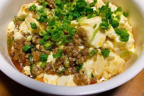 レンジ5分で本格中華 レンチン麻婆豆腐
